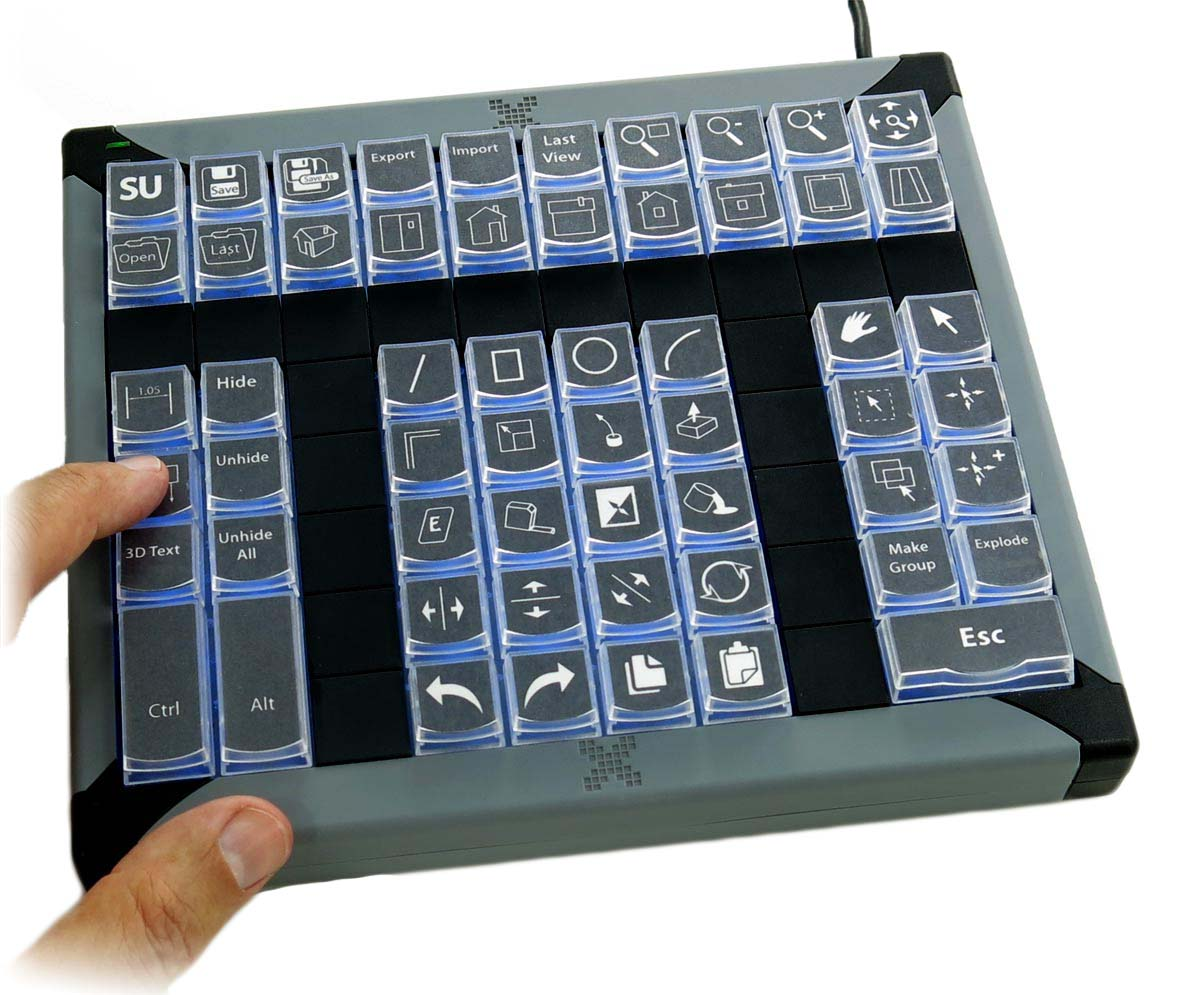 X-keys XK-60 USB Keypad - Angry Face Rageboard - The world\'s first ...