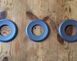 Structure-lacquered rings